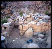 What appears to be an altar area has been found at the Mt. Sinai site in Saudi Arabia, the ancient land of Midian. Evidence abounds that this was an area where many animals were sacrificed.