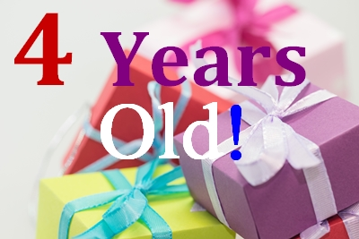Happy 4th Birthday, ChristiansAreUs.com!!!